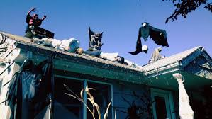 Halloween Decorations For The Roof by Clifton Man Takes Down Popular Halloween Display After Getting