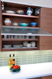 Kitchen Cabinets With Frosted Glass Mid Century Kitchen Cabinets Kitchen Modern With Barstool Frosted