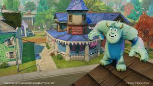 monsters university playset disney infinity playsets