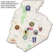 county map find your feeder area families and students