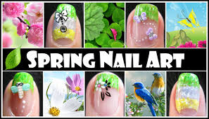 spring nail art designs easy french tip gradient nail tutorial
