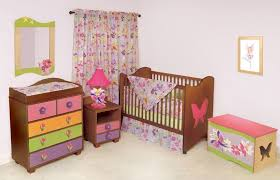 Baby Nursery Furniture Sets Clearance Furniture Excellent 3 Pc Stained Wood Baby Nursery Furniture Set