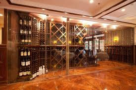 basement awesome trap door wine cellar with wooden wine racks for