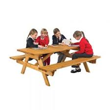 Picnic Benches For Schools Timber Furniture For Junior Schools Archives Anchor Fast