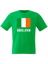 kids ireland t shirt irish flag st patricks day boys girls top ebay