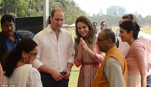 where do prince william and kate live prince william and kate middleton meet mumbai s slumdog children