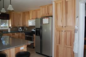 Kitchens With Hickory Cabinets Furniture Exiting American Woodmark Cabinets For Kitchen Room