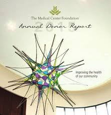 the medical center foundation annual report 2015 by susan daniel