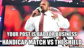 Triple H Memes - triple h corporation rules by captainbonte meme center