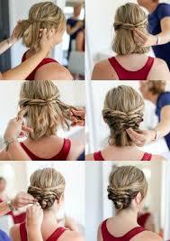 Hochsteckfrisurenen Selber Machen Lange Haare by Best 25 Hochzeitsfrisur Kurze Haare Selber Machen Ideas On