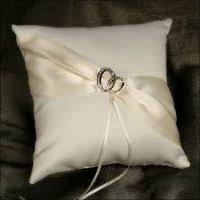 wedding pillow rings how to tie wedding rings to pillow pillows ideas
