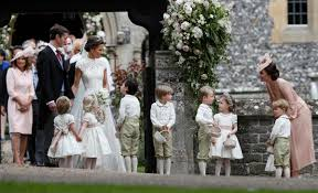 the heart melting moment you missed from pippa middleton u0027s wedding