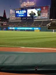 progressive field section 129 home of cleveland indians