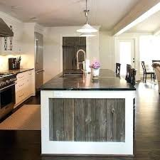 Kitchen Island Made From Reclaimed Wood Captivating Reclaimed Wood Island Kitchen Island Made From