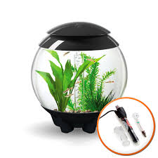 baby biorb replacement light unit halo 15l grey aquarium with mcr lighting and heater pack