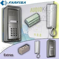 farfisa audio intercom with keypad