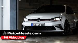 volkswagen golf gti clubsport s ph videoblog pistonheads youtube