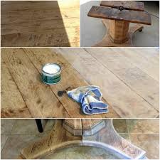 wax for wood table bleached wood look with liming wax crazy wonderful