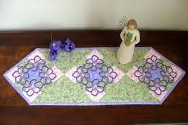quilted table runner with embroidery advanced embroidery designs