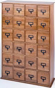 library file media cabinet amazon com leslie dame cd 456solid oak library card file media