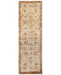 2 X 8 Runner Rugs Andreas Af 04 Antique Ivory Rust 2 7 X 8 Runner Rug Rugs Macy S