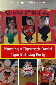 halloween first birthday invitations planning a tigertastic daniel tiger birthday party ready set