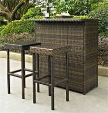 Bar Height Patio Furniture Sets Have To Have It Belham Living Matica All Weather Wicker Bar