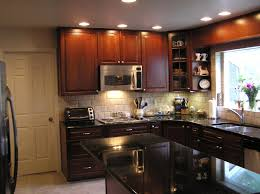 Kitchen  Kitchen Remodel Ideas With Brown Black Lacquered Wood - Black lacquer kitchen cabinets
