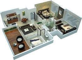 3 Bhk Apartment Floor Plan by Rohan Leher Ii 3bhk Apartments For Sale In Baner Pune