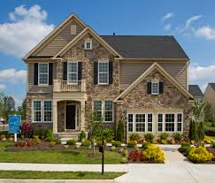 Home Exterior Design Brick And Stone Design And Architecture Detached Home On Lots 7 000 S F And