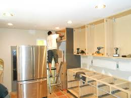 how to stain wood kitchen cabinets diy kitchen decoration