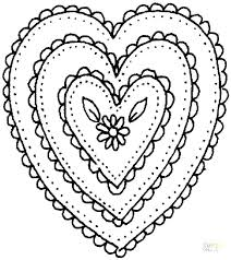 printable coloring pages flowers printable coloring pages hearts coloring colouring pages hearts and