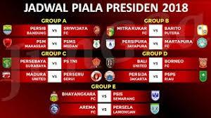 Jadwal Piala Presiden 2018 Jadwal Siaran Langsung Persija Jakarta Di Boost Sportsfix