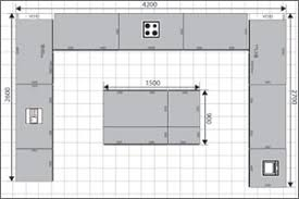 island kitchen plan u shaped kitchen floor plans