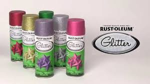 add full coverage sparkle with rust oleum glitter spray paint
