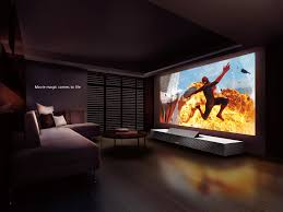 creative short throw home theater projector interior decorating