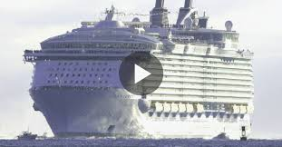 largest cruise ship titanic compared awesome punchaos com