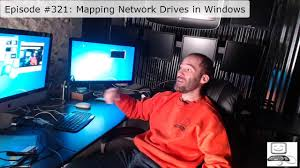 Net Use Map Drive Episode 321 Mapping Network Drives In Windows Youtube