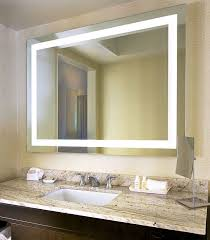 mirrors bathrooms luxury lighted wall mirrors for bathrooms 64 in dark ceilings