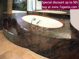 bathroom stone sink marble vessels granite countertop bathtub 20