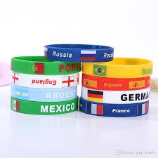 man rubber bracelet images 2018 world cup custom silicone wristband bracelets fashion design jpg