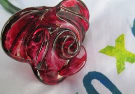 glass roses glass roses with