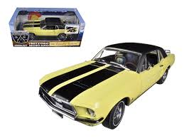 Mustang 1967 Black Diecast Model Cars Wholesale Toys Dropshipper Drop Shipping 1967
