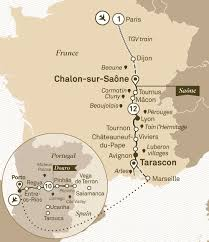 Tgv Map France by Spectacular South Of France U0026 Unforgettable Douro Scenic