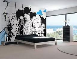 Cool Ideas For Bedroom Walls With Cool Bedroom Paint Designs Wall - Cool ideas for bedroom walls