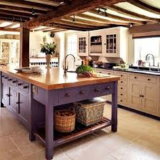 country kitchen island purple painted country kitchen the island is just fabulous and