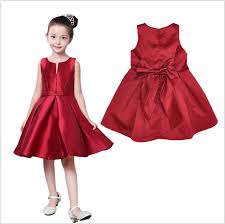 red dress kids oasis amor fashion