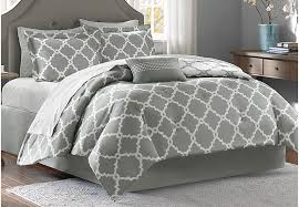 merritt gray 9 pc king comforter set king linens gray