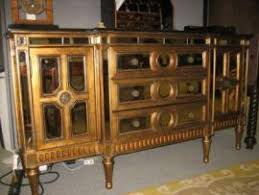 cost to deliver a horchow gold mirrored buffet console to brooklyn