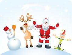 christmas illustration cartoon reindeer ideias os